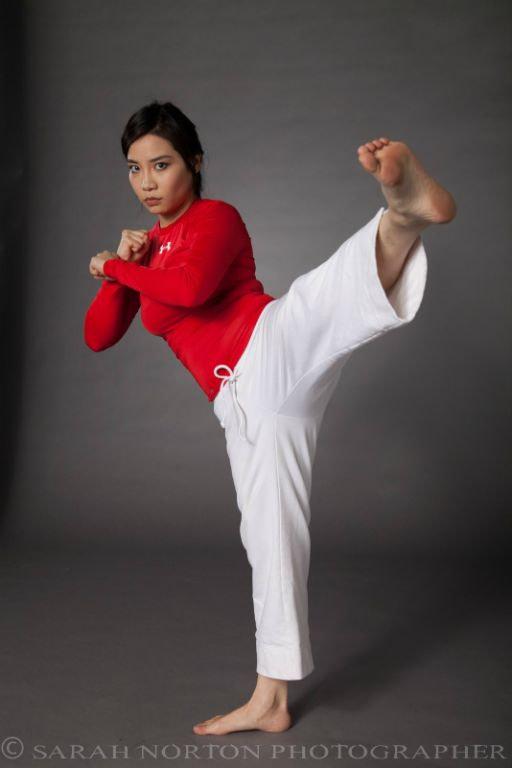 Vivian Ahn karate